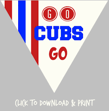 free printable baseball free printable decorations for your chicago cubs baseball party