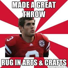 Nebraska Football Memes - making its way around the college memes page for unl i laughed and