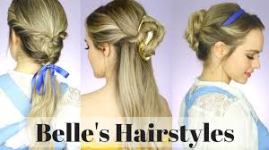 199 best hairstyles for images on pinterest hairstyles all the beauty and the beast hairstyles kayleymelissa youtube
