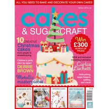 cakes u0026 sugarcraft magazine winter 2015 16 squires kitchen shop