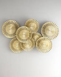 Gold Wall Decor by Pod Wood Gold Carving