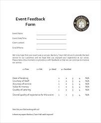 event feedback form template word beautifuel me