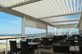 Automatic Patio Cover Bioclimatic Structures Motorized Pergolas Patio Covers