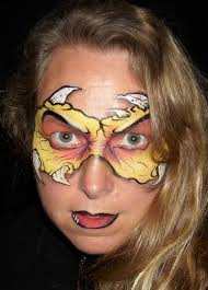 face painting ideas for halloween popsugar beauty