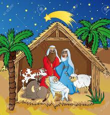 live nativity scene clipart clipartxtras