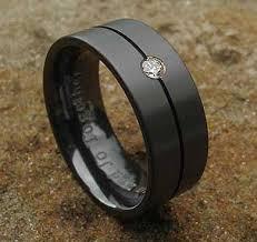 black zirconium wedding bands diamond set black wedding ring love2have in the uk