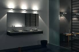 room led illuminated bathroom mirror with shelf cabinet shaver
