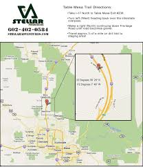 Mesa Arizona Map by Maps Arizona Off Road Adventure Tours By Stellar Adventures