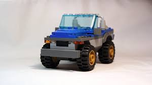 jeep dune buggy lego city 4x4 car moc from dune buggy trailer set 60082 youtube