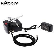kkmoon airbrush compressor air brush kit 0 3mm 7cc spray nail art