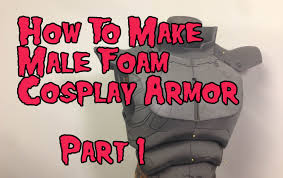 ned armour template how to make foam armor tutorial part 1