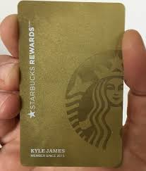 starbuck gold card gold card what is it how to get it and is it worth it