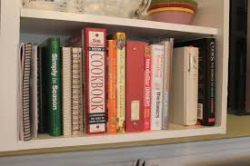 kitchen bookshelf ideas she who makes cookbooks on my kitchen bookshelf
