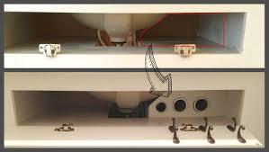 remodelaholic diy under the sink hair tool storage