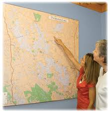 wall maps large wall maps