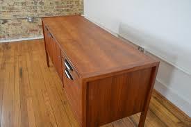 danish modern secretary desk jens risom designs mid century modern walnut credenza galaxiemodern