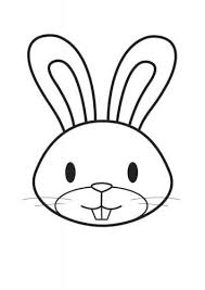 easter bunny face coloring pages print coloring pages ideas