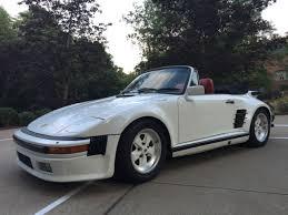 1987 porsche 911 slant nose porsche 930 convertible 1987 white for sale wp0eb0932hs070175