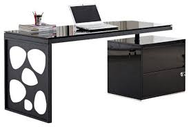 Modern Desk Modern Black Desk Crimson Waterpolo