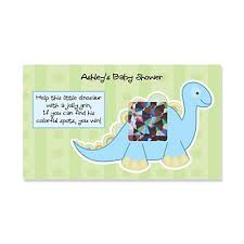 baby shower scratch baby boy dinosaur personalized baby shower scratch