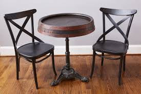 Barrel Bistro Table Wine Barrel Bistro Table Europe2you
