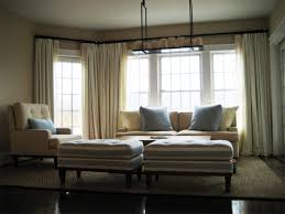 pottery barn curtains and drapes side by side window curtains bay