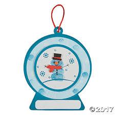 snowman ornament craft kit