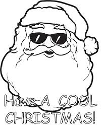 cool christmas coloring pages free printable santa claus coloring