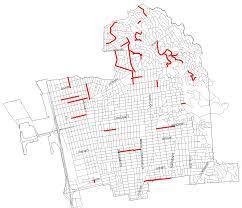 Map Berkeley Fy 2017 Street Map City Of Berkeley Ca