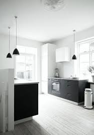 Black Or White Kitchen Cabinets 190 Best Black And White Kitchens Images On Pinterest Kitchen