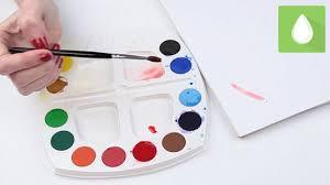 mix paint colour pink 9 steps pictures