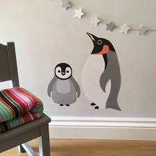 penguin wall art penguin wall decals dezign with a z aliexpress penguin wall stickers