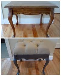 Upholster A Sofa Before And After Diy Reupholstering Furniture Ideas