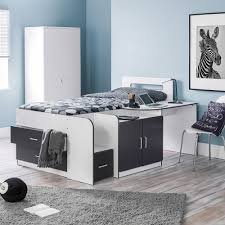Midi Bed With Desk Children U0027s Cabin Beds Happy Beds