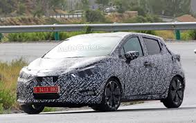nissan micra review 2016 nissan micra spied with major styling change autoguide com news