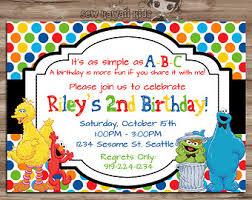 elmo u0026 abby birthday invite elmo abby cadabby birthday