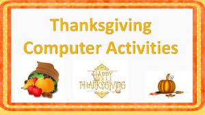 thanksgiving computer activities 2 lessons by proven computer