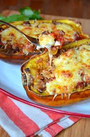comment cuisiner une courgette spaghetti courge spaghetti à la bolognaise bolognese spaghetti squash boats