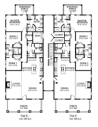carlton landing mansion flat house plan 14202 design from