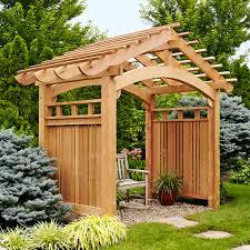 garden arbor plans the gardens