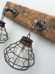 vanity light fixture 2 mason jar light fixture with shade bathroom light rustic