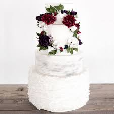 winter wedding cakes frosted and fabulous 14 winter wedding cakes to inspire