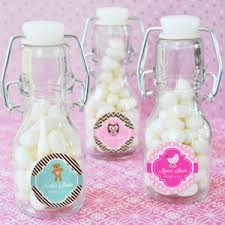 baby bottle favors baby shower personalized mini glass bottle favors