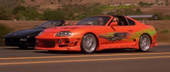 toyota supra fast and furious image test run supra vs ferrari jpg the fast and the