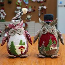 Christmas Decorations 2017 Online Buy Wholesale Christmas Owl Decorations From China