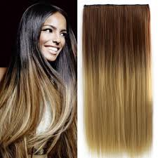 Black To Brown Ombre Hair Extensions by 24