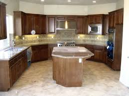kitchen with island ideas dark brown wooden kitchen island with brown marble counter top