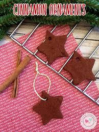 cinnamon ornament recipe crafty