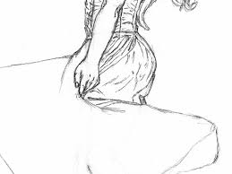 how to draw a woman in a dress spinning around let u0027s draw people