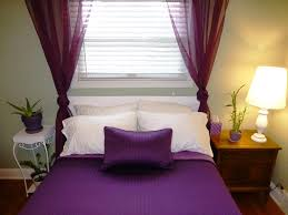 White Bedroom Curtains Decorating Ideas Romantic Purple Bedrooms Ideas All Home Decorations